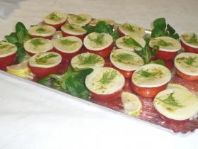 Tomates cre me de mozzarella craquant de basilic new